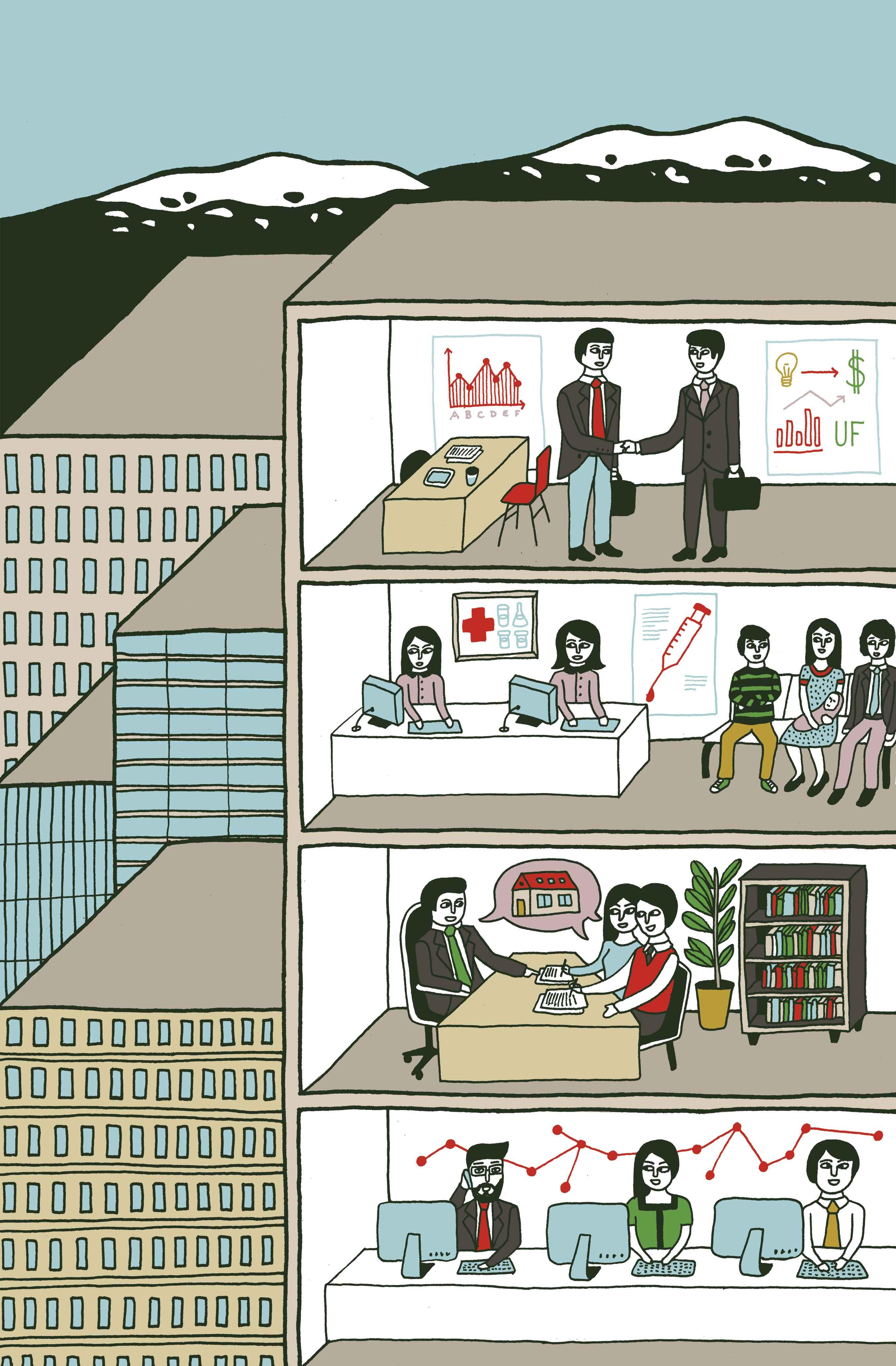 Ocupantes de oficinas clase A